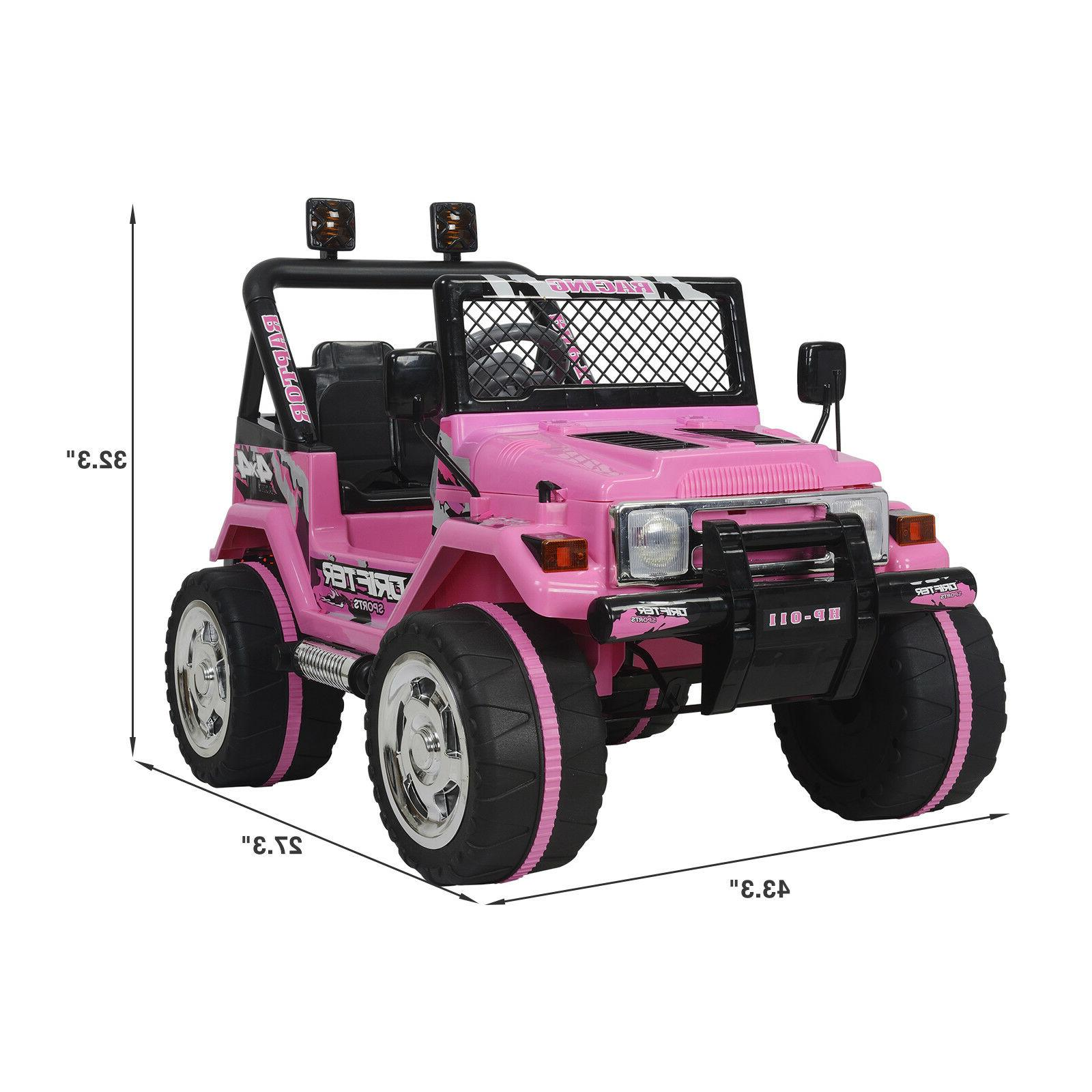 Car Electric Wheels Pink Music