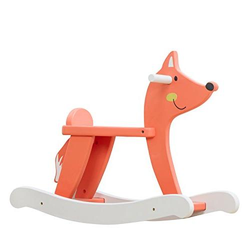 labebe wooden rocking horse toddler girls boys months years