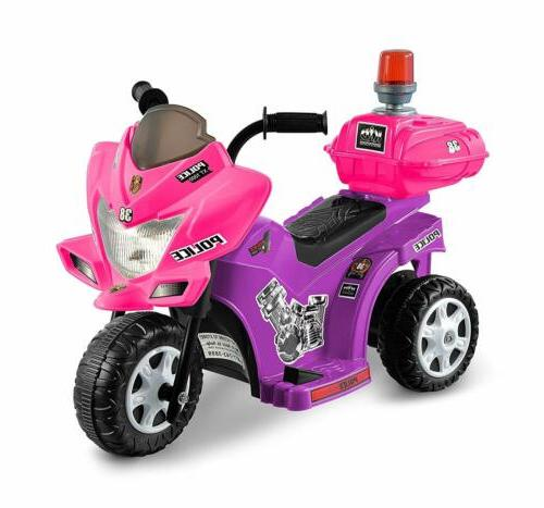 lil patrol 6v purple and pink