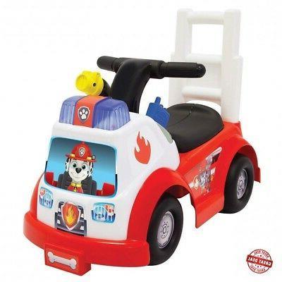 marshall fire engine ride