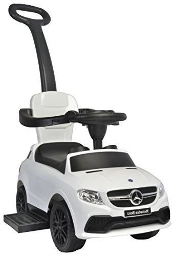 Best on Mercedes in Push Car, White