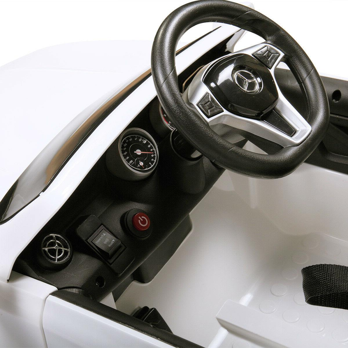 6V Kids Ride On Toy Car Mercedes w/LED Lights