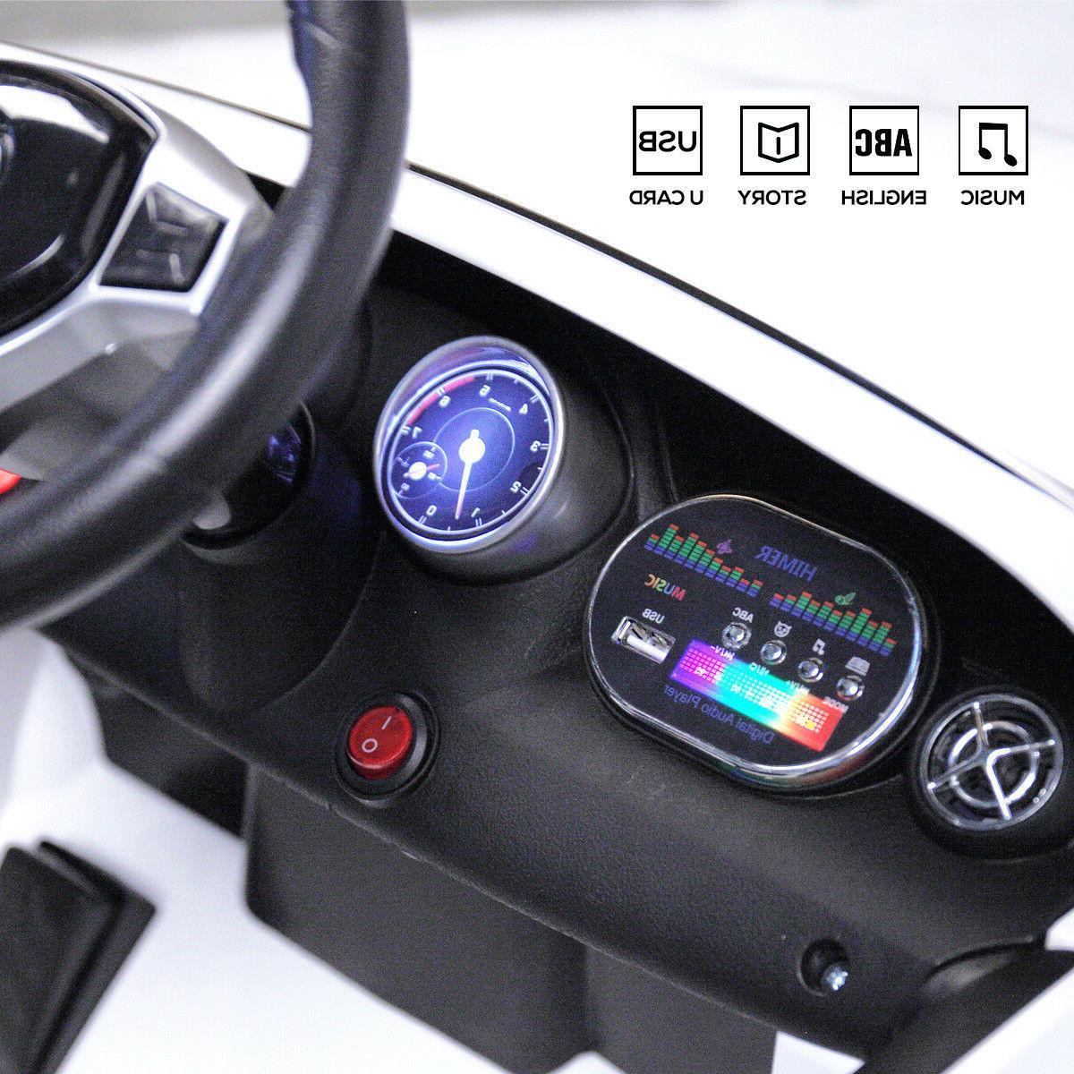 6V On Benz w/LED