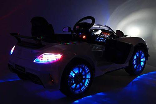 Mercedes Final Children Ride-On Car R/C Battery Power Lights 5 Point Seat LCD Player Rubber Floor Mat