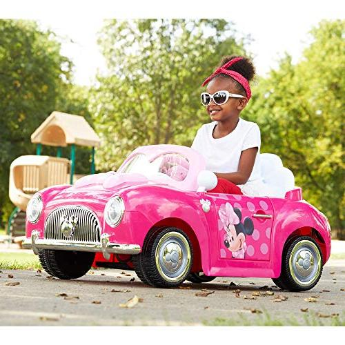 minnie convertible battery powered ride