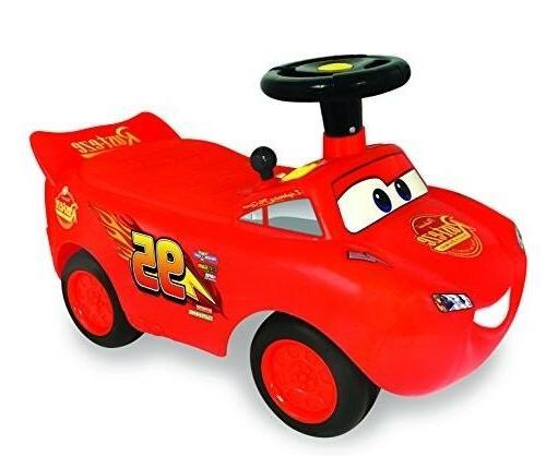 my lightning mcqueen racer ride on