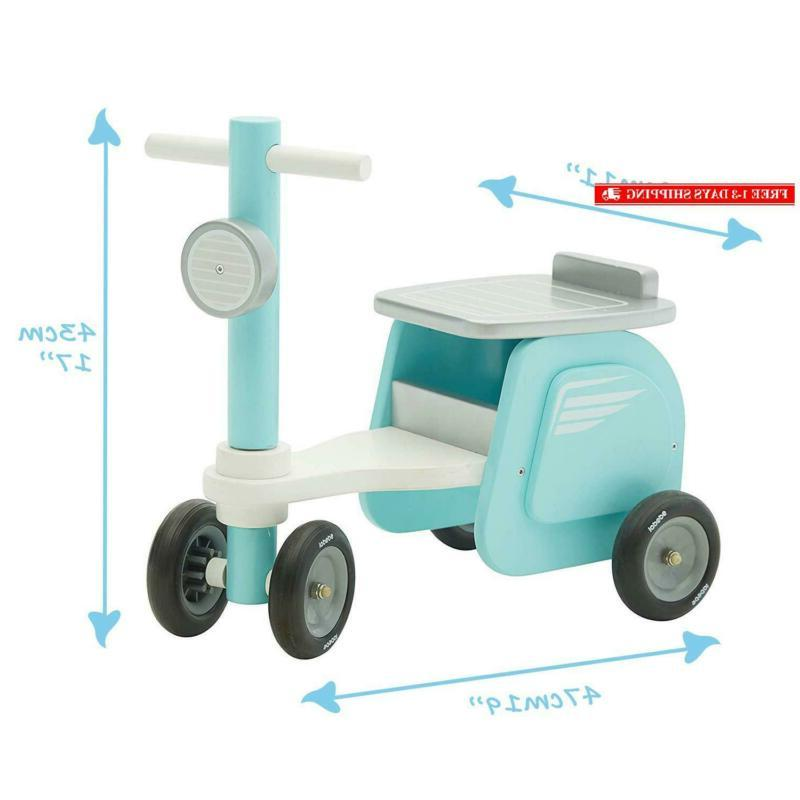 【New】Labebe - Blue On Toy, Ride-On Motorcycle 1-3 Years Old,