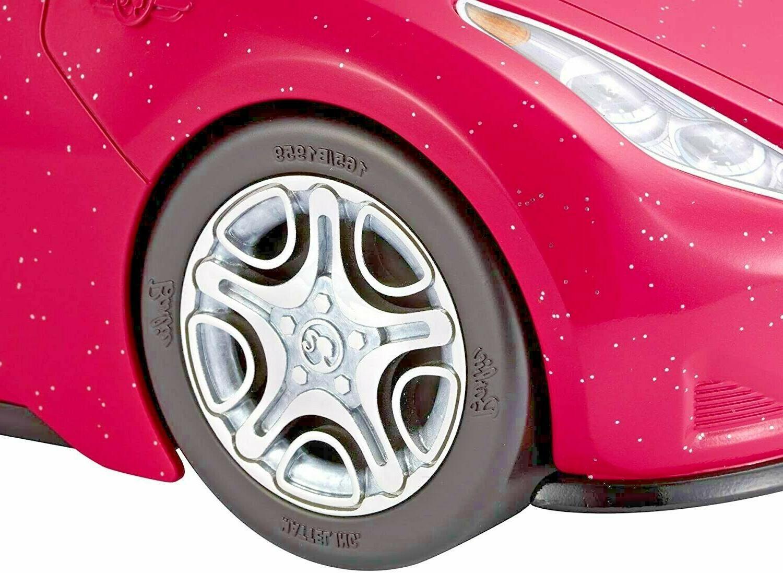 Doll Pink Pretend Play Car Mattel