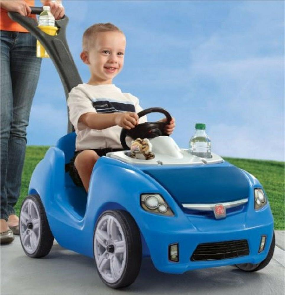 NEW Step2 Ride II Ride On Car Toy For Toddler Blue