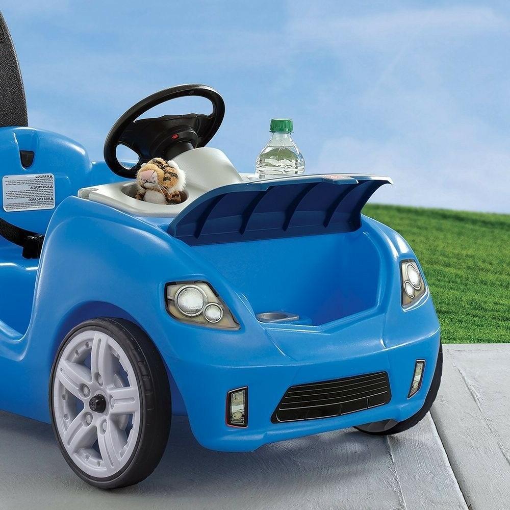 NEW II Car Toddler Color Blue