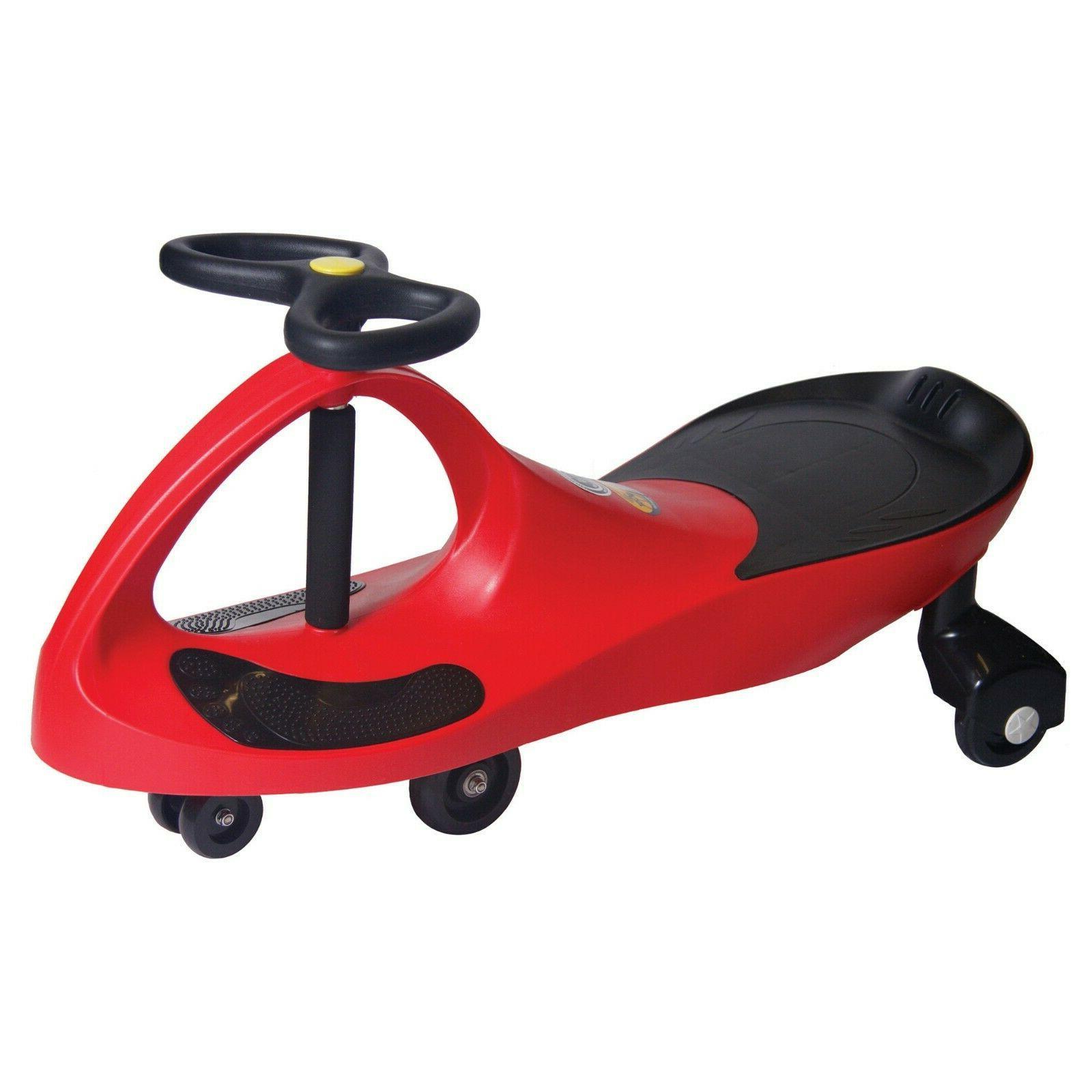PlaSmart Original Red PlasmaCar Inertia Driven Ride On Toy