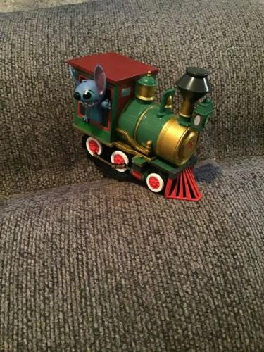 Disney Stitch Riding the Vehicle Toy