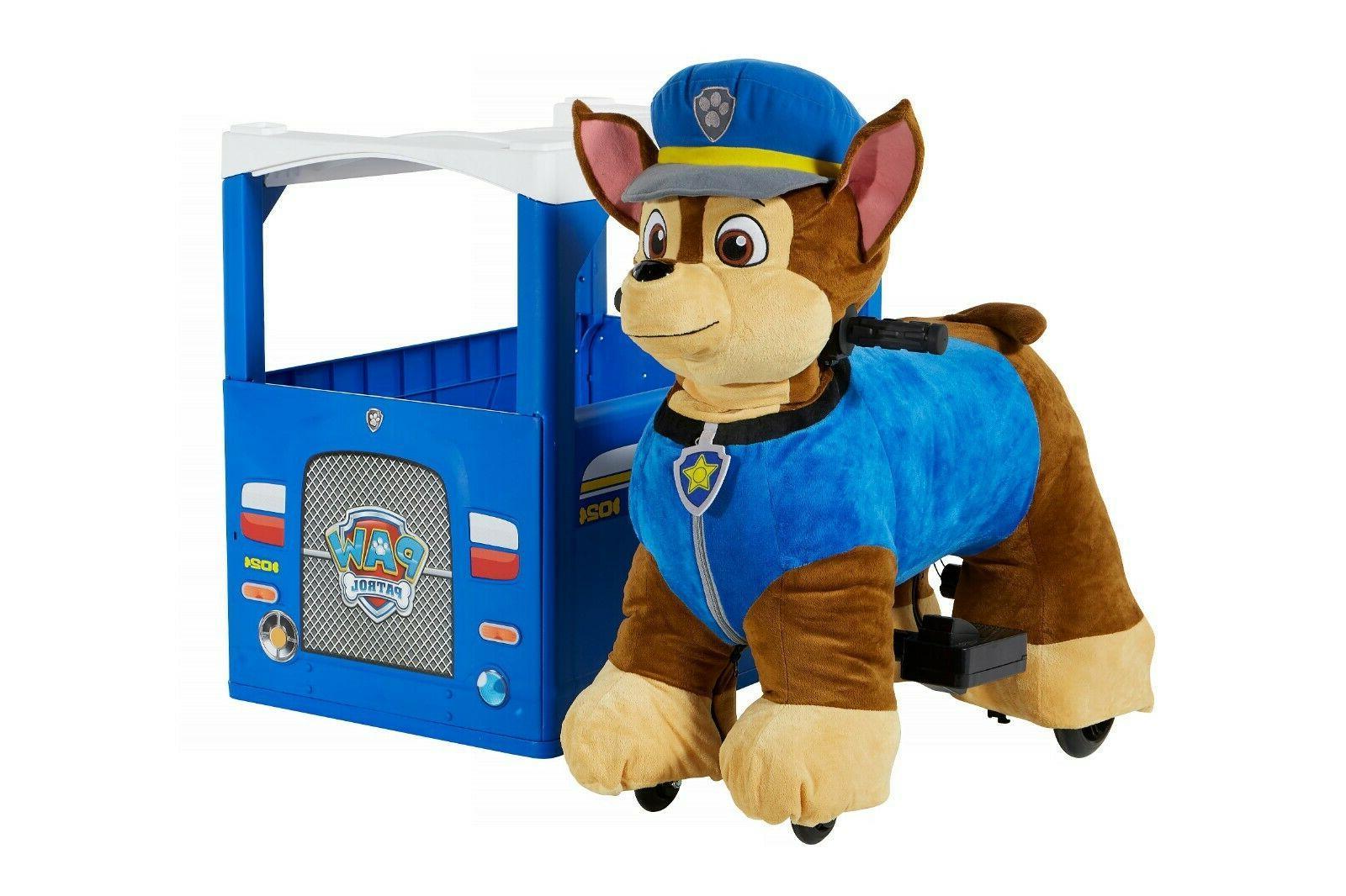 paw patrol chase plush electric