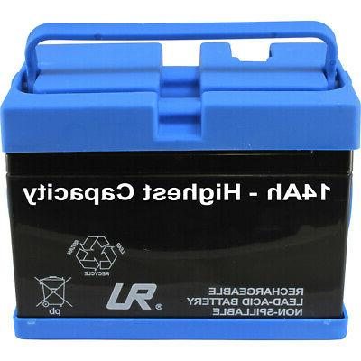 Peg Battery for John Ride-on Toy High Capacity 14AH