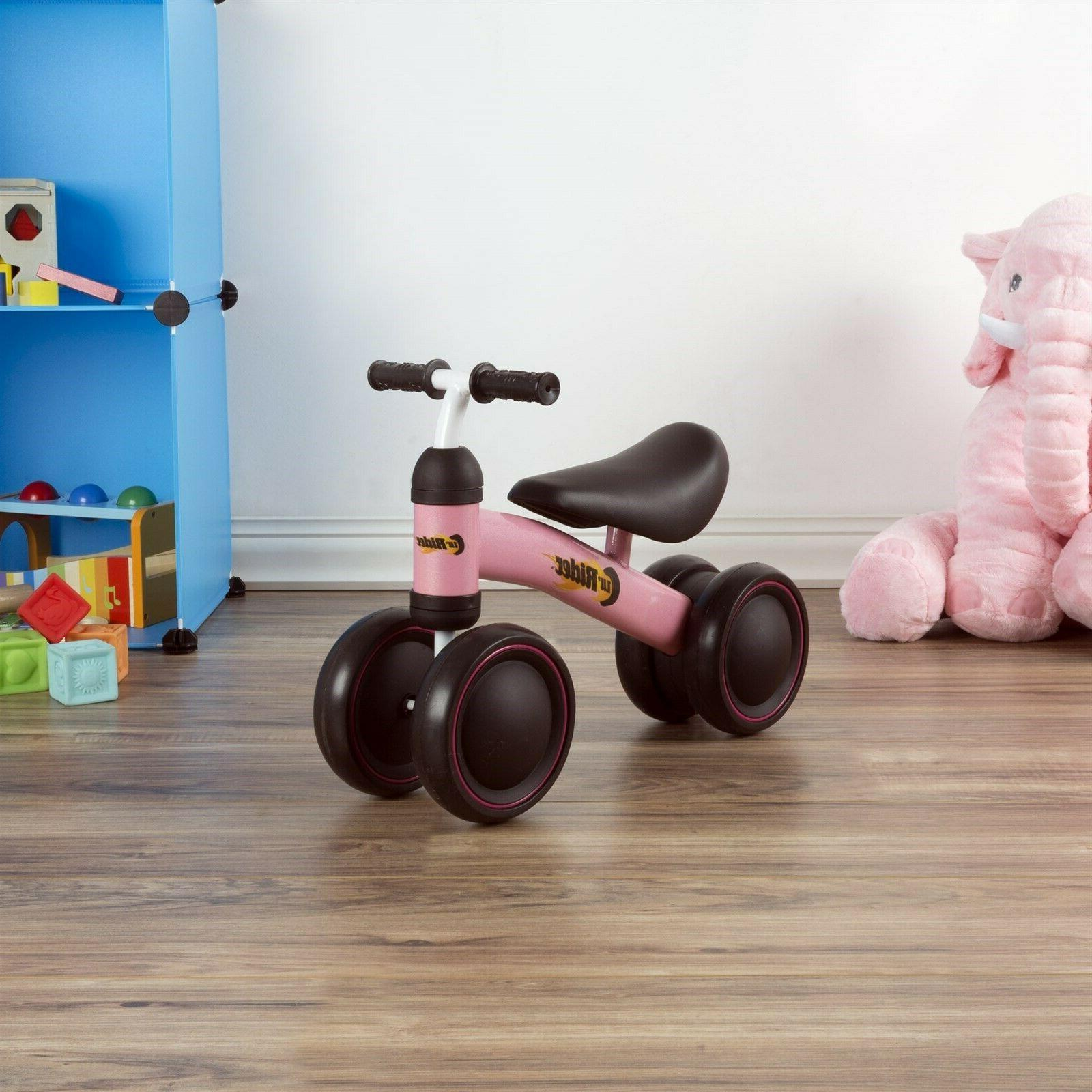 Pink Baby Toddler Ride on Walk No Pedals