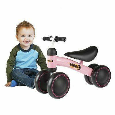 pink baby toddler ride on toy bike
