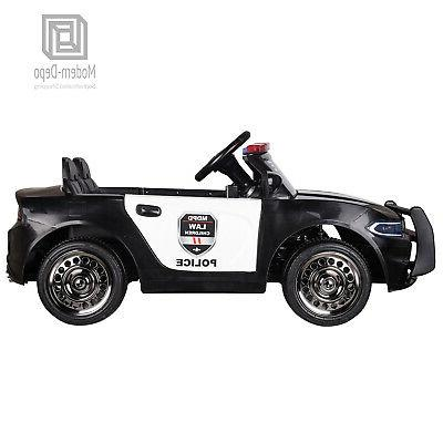 Police Pursuit 12V Electric Remote