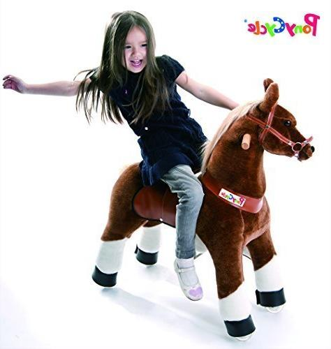 Smart Gear Chocolate, Light or Brown Riding 2 Sizes: Simulated Riding Ponycycle small by Smart Gear