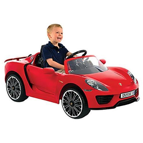 Rollplay Porsche 918 Battery-Powered Kid's Car