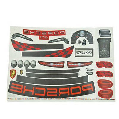 Power Wheels CDD15 Porsche Ride On Toy Label Decal Sheet Gen