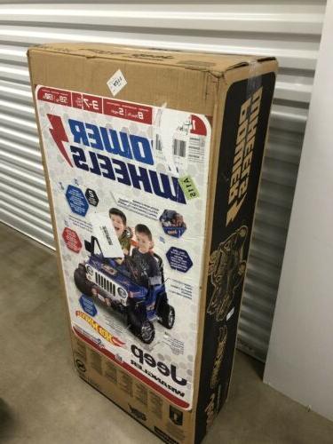 power wheels jeep wrangler 12v kids ride
