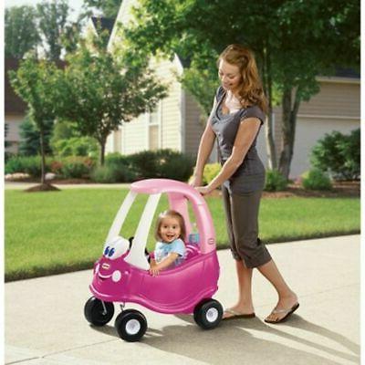 Little Tikes Princess Coupe Ride-On Pink Girls Fun Riding Toy Toddler