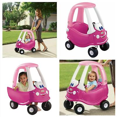 princess cozy coupe ride on pink girls