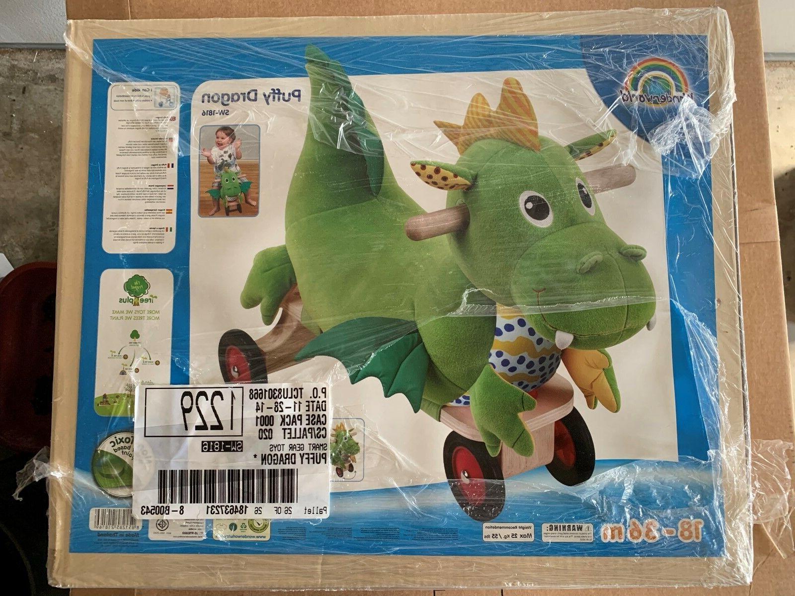 Wonderworld Dragon Sit & Toddler Toy Gear