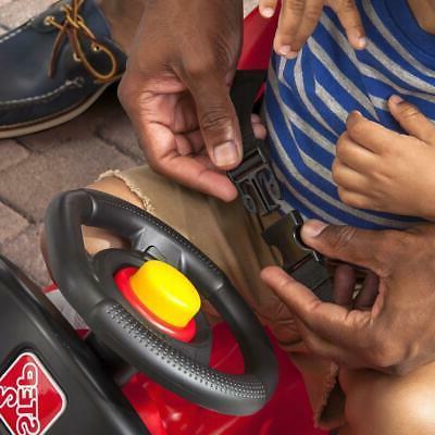 Step2 Kids Plastic Parent Push Power Ride On GT