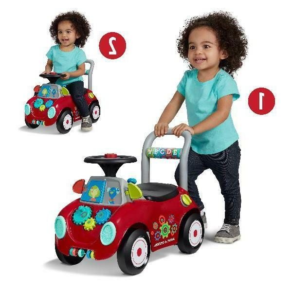 Radio Busy Buggy, Ride-On Multi-Color