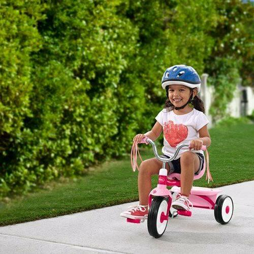 Pink Radio Flyer 411P Folding Tricycle Ready To Ride