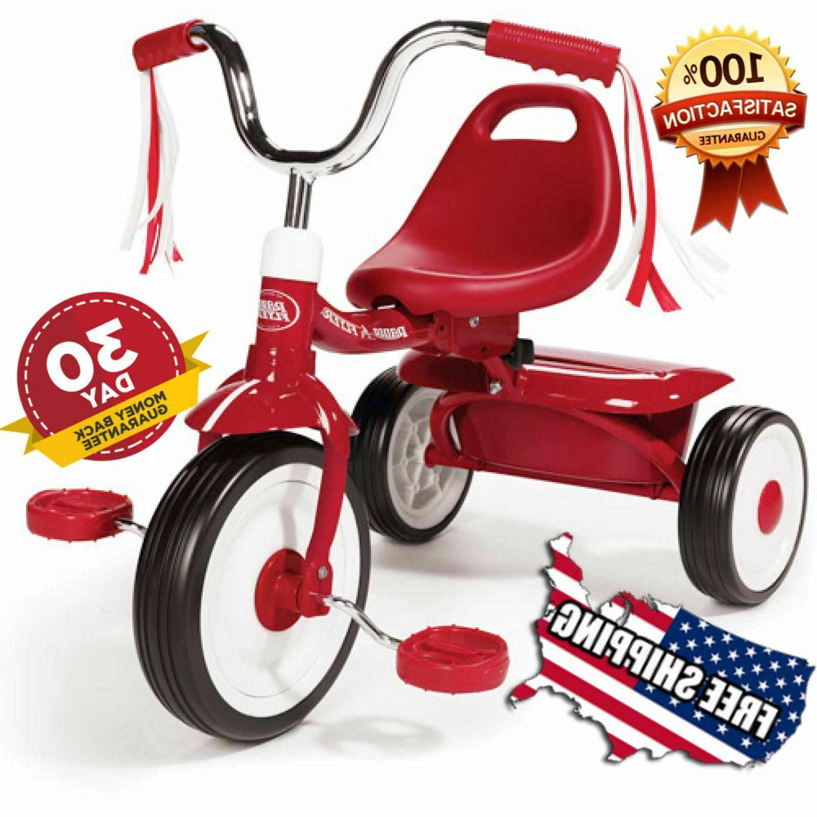 Radio Flyer Ready to Ride Folding Trike Tricycle Kid Outdoor