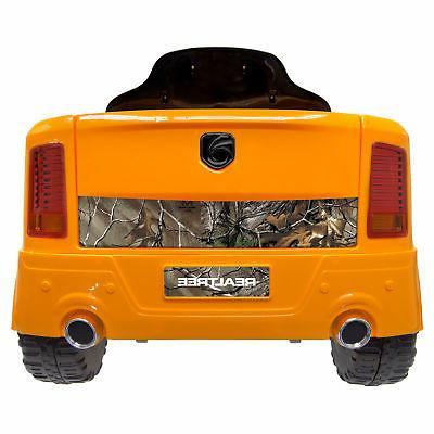 Best Ride On Realtree Kids Ride Toy Truck, Orange