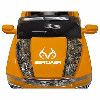 Best Realtree Kids Ride Toy Truck, Orange