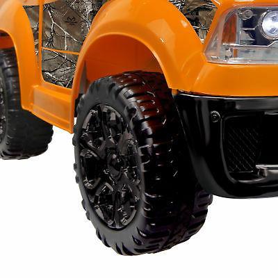 Best Ride On Cars Ride Truck, Orange