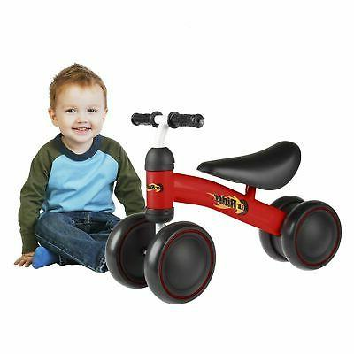 red baby toddler ride on toy bike