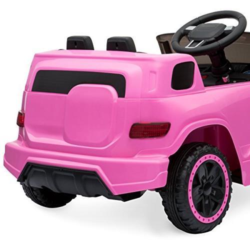 Best Kids Car w/ Parent 3 Speeds, LED MP3