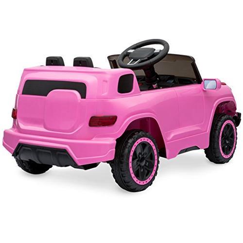 Best Kids Ride-On w/ Parent Speeds, Player, Horn - Pink