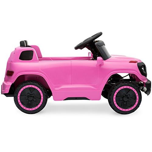 Best Kids Ride-On w/ Speeds, Headlights, MP3 Player, Horn