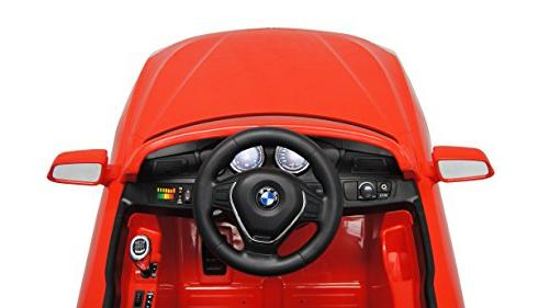 Best BMW Series Ride On 12V, Red