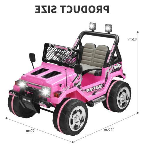 12V Cars Wheel Remote USB Pink