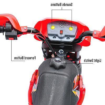6V Kids Motorcycle Battery Powered Bike 4