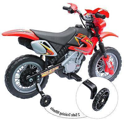 Motorcycle Battery Powered Bike w/ 4