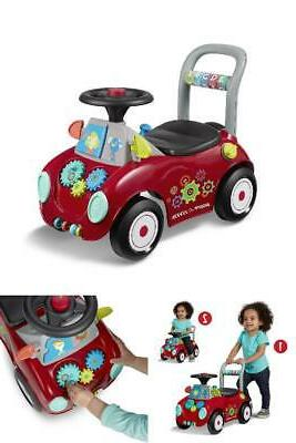 ride on and push walker interactive toy