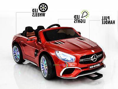 Ride On Kids Mercedes Control Screen wheels