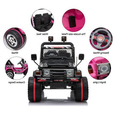 Ride Jeep Electric Battery Remote MP3 Light