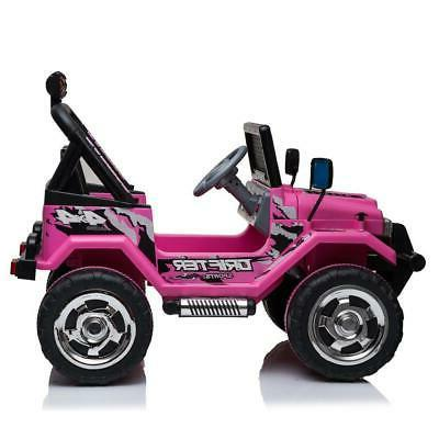 Ride On Car Toys Kids Jeep 12V Wheels Remote