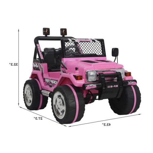 Ride Jeep 12V Kids Head W/Remote Control 3
