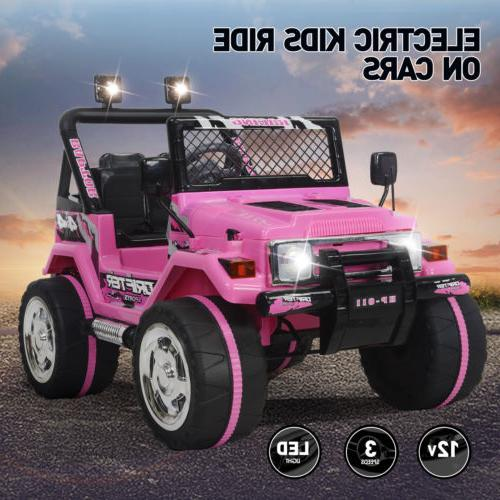 ride on cars jeep 12v electric kids