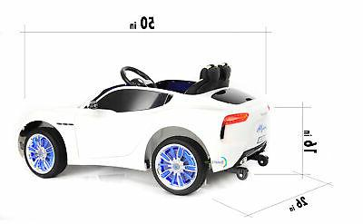 Ride Electric Toy Remote Control wheels White